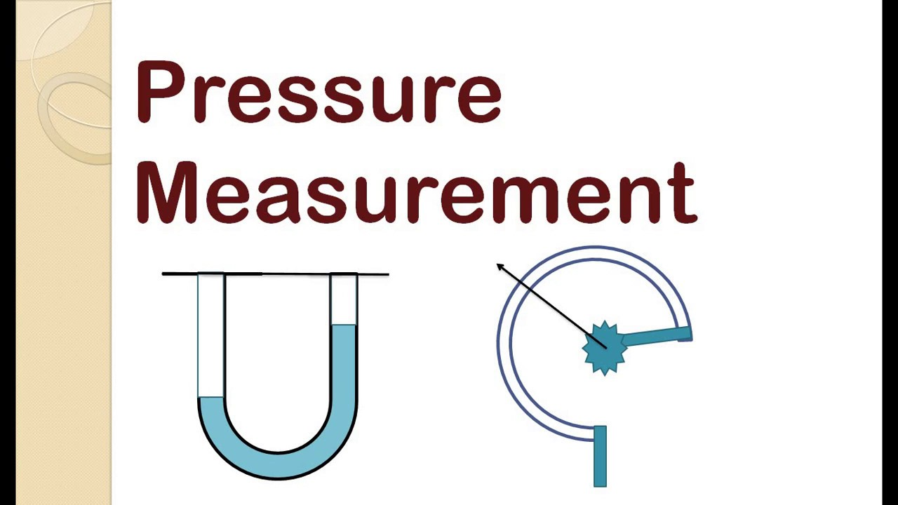 How is the pressure measured