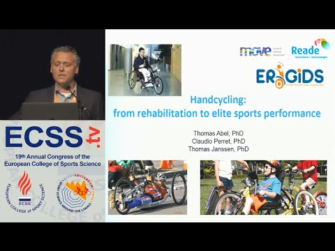 Handcycling to promote health and fitness during and after rehabilitation - Prof. Janssen