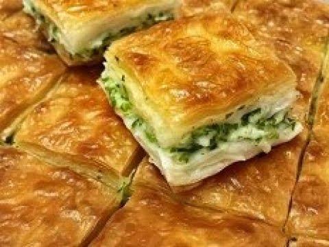 Turkish Su Borek  recipe طرز تهیه قتلمه پنیر دارترکی