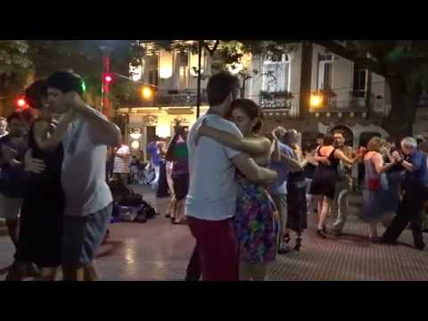 Milonga: an evening of tango dancing in the streets of Buenos Aires