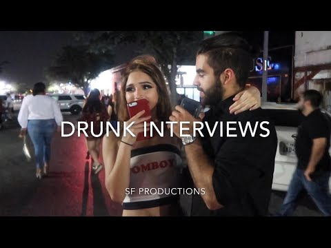 DT MCALLEN DRUNK INTERVIEWS (RGV LIFE ADVICE!!!)