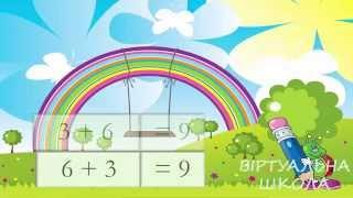 Урок 78. Математика 1 клас. ПЕРЕСТАВНИЙ ЗАКОН ДОДАВАННЯ Частина 2.