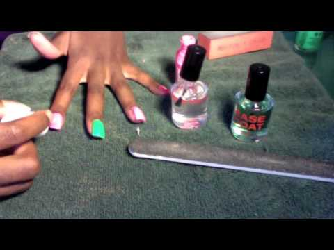 painting over acrylic nails