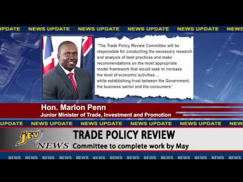 JTV NEWS UPDATE BVI TRADE POLICY REVIEW