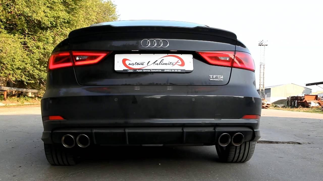 Audi A3 Sedan Custom >> Custom Unlimited Audi A3 Sedan 1 8tsi Cat Back Borla Apr Tips