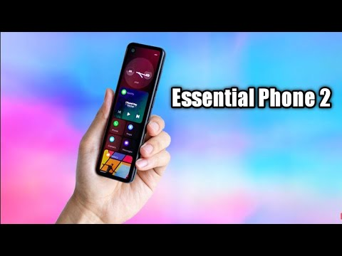Essential Phone PH-2 - First Look | Essential Phone is Back New UI