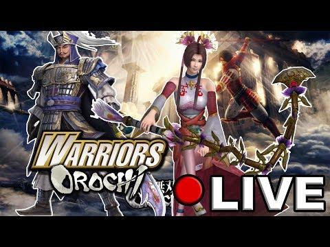 Warriors Orochi 1 PC Samurai Warriors & Wei Story Completed