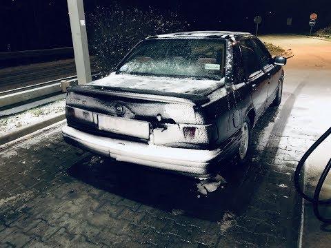 Ford Sierra GT DOHC Snow Touge Drifting