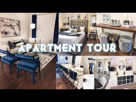 🔥FULLY FURNISHED APARTMENT TOUR 🔥HOTEL GLAM INSPIRED