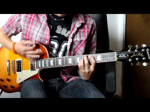 [HD] Green Day - Holiday (guitar cover) /HQ audio