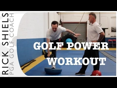 GOLF POWER WORKOUT 4