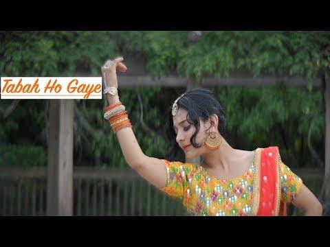 Tabaah Ho Gaye Dance | Kalank | Saroj Khan Choreography