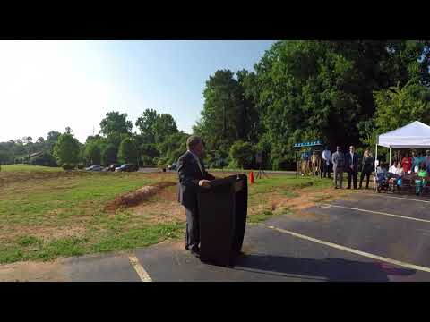 Gordon State College Student Services Center Groundbreaking