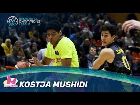 Rising Stars - Kostja Mushidi Highlights - Mega Leks - Basketball Champions League