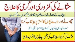 Masana Ki Kamzori Ka Ilaj - Urine Problem Solution In Urdu -  Bar Bar Peshab Ana Ka Ilaj
