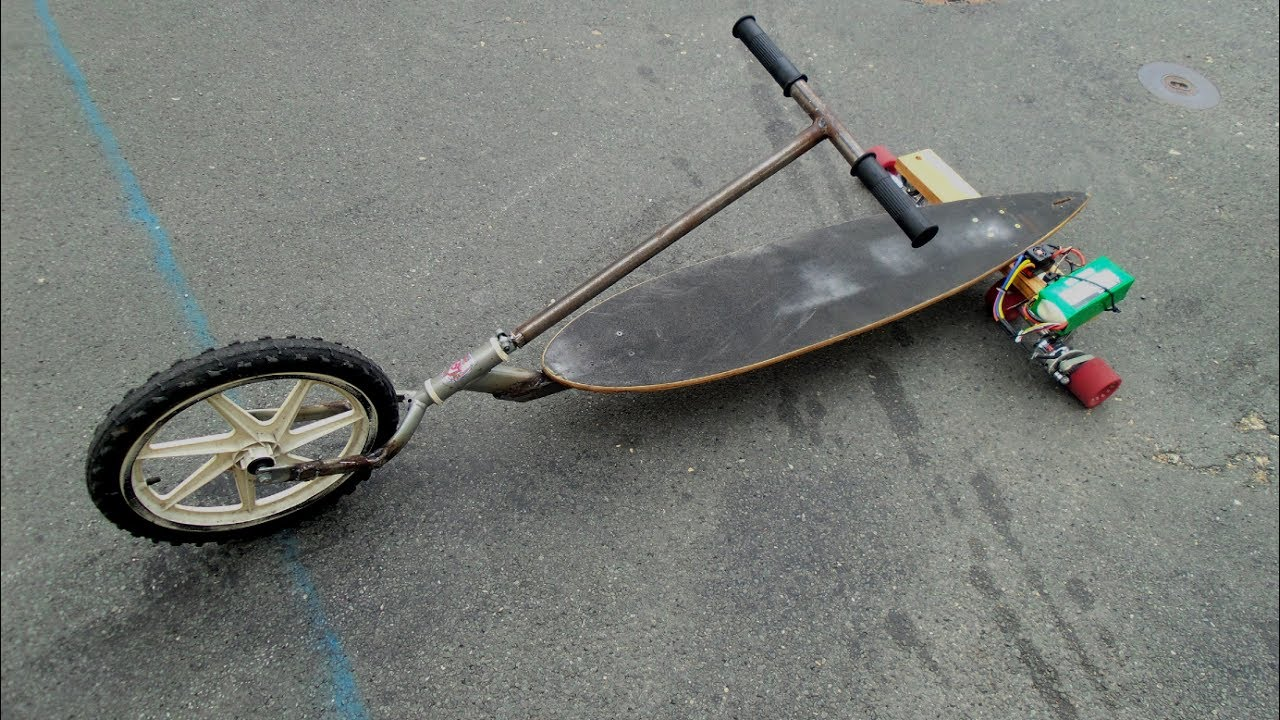 Homemade Electric Trike Low Rider Easy To Build 1000w