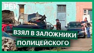 В Полтаве угонщик взял в заложники начальника уголовного розыска