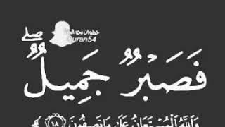 فصبر جميل والله المستعان حالات واتساب دينية  الوصف 👇👇