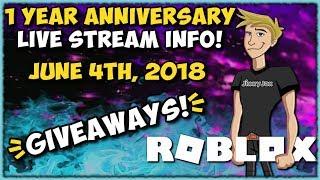 Roblox - France Annonce d'un an anniversaire! JixxyJax JixxyJax
