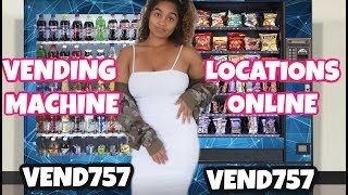 FIND VENDING MACHINE LOCATIONS ONLINE: HOW TO START VENDING MACHINE BUSINESS