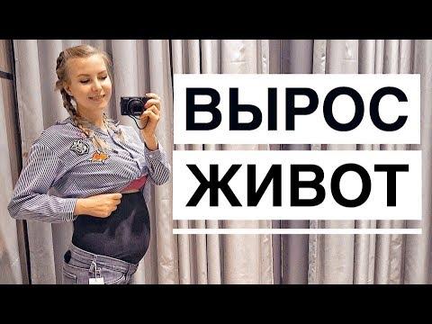 РЕЗКО ВЫРОС ЖИВОТ! // Покупки для беременных, 1 триместр