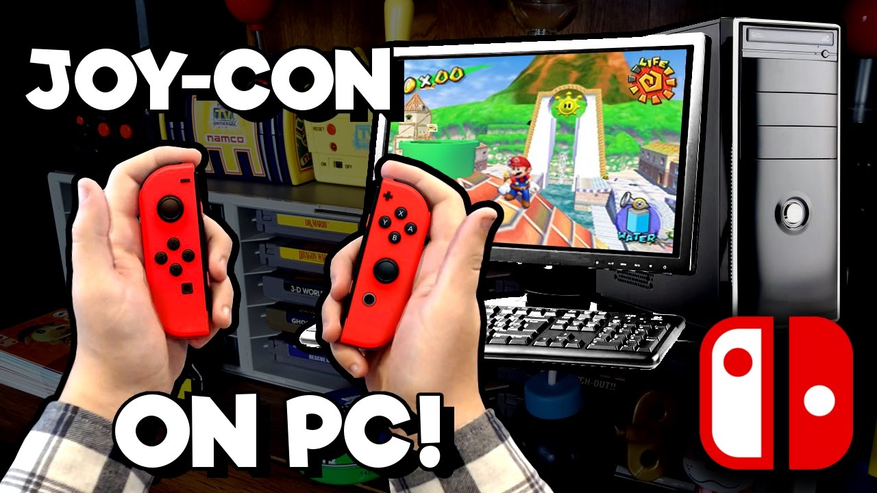 Using Joy-Con on PC! GameCube Games, Split-Screen Multiplayer, and More!  [Nintendo Switch]