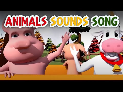 Animal Sounds Songs | Nursery Rhymes and Baby Songs | Kids Learning Videos - Youtube