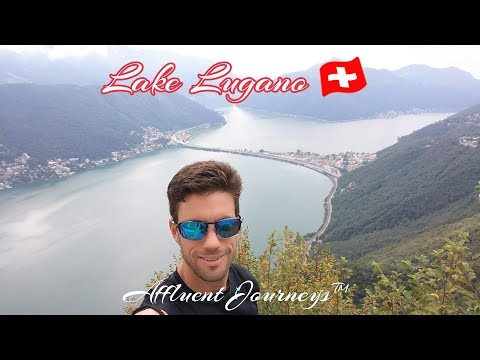 2 Days in Beautiful, Romantic Lugano, Switzerland