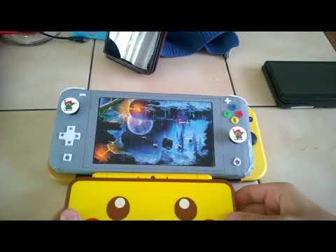 Nintendo Switch Lite DIY cardboard