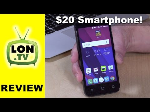 A $20 Fully Functional Smartphone? Walmart Family Mobile Alcatel PIXI 4 Review