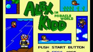 Music: Alex Kidd in Miracle World, Main Theme