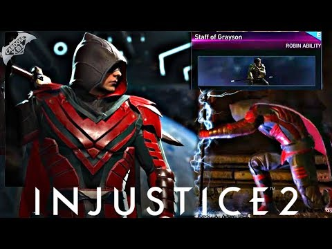 Injustice 2 Online - EPIC STAFF OF GRAYSON!