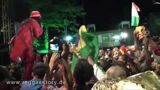 Alpha Blondy - 3/4 - Peace In Liberia - Reggae Jam 2015