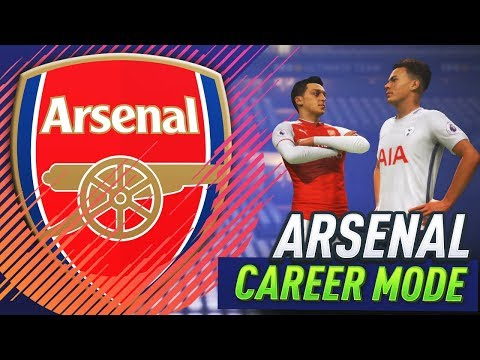 FIRST NORTH LONDON DERBY!!! FIFA 18 ARSENAL CAREER MODE #7