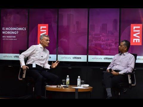 Modinomics and Sri Lanka -  With Dr S Narayan