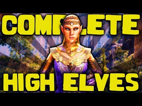 Skyrim - The COMPLETE Guide To The Altmer - Elder Scrolls Lore