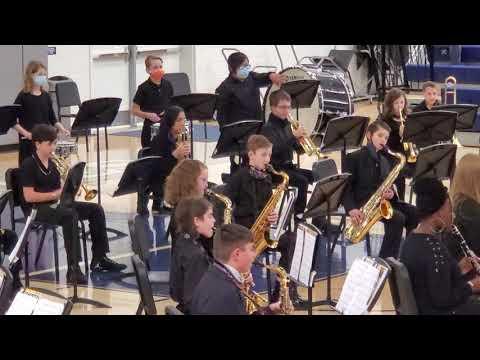2020 Clover Middle School winter concert