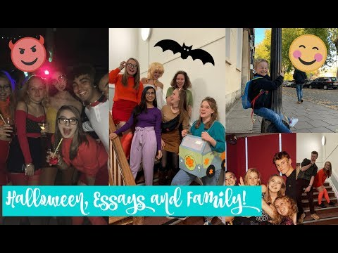 HALLOWEEN PARTIES, FAMILY VISITS AND TOO MANY ESSAYS! | Oxford University Vlog #4
