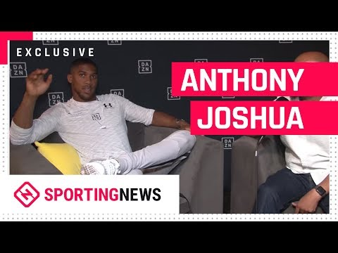 SN Exclusive  Sit Down  with Heavyweight Champion Anthony Joshua