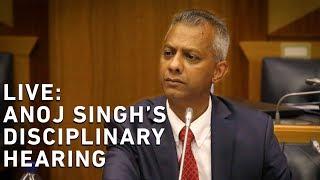 WATCH LIVE: Anoj Singh's disciplinary hearing