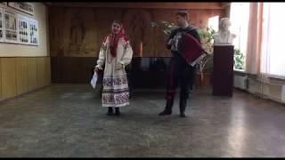 Озорные частушки под гармошку | Василиса Тарасенко