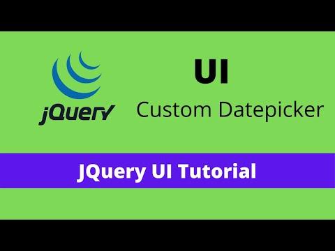 Jquery datepicker source code download