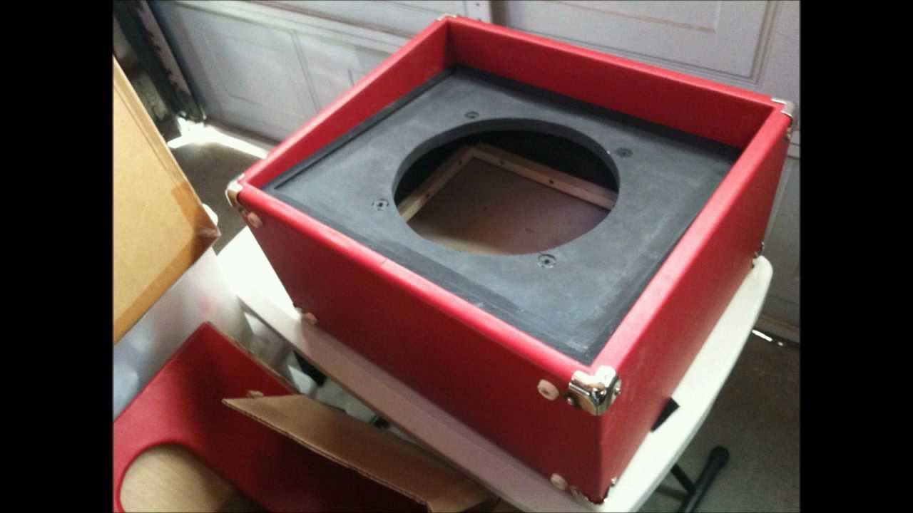 12 inch Speaker Cabinet build out with Lil Night Train