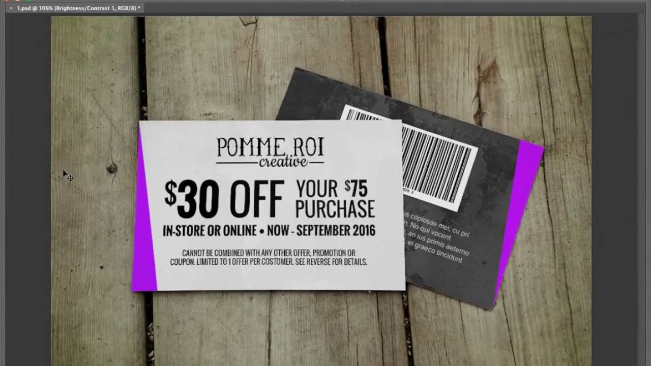Discount Card Sample Google Drive - YouTube