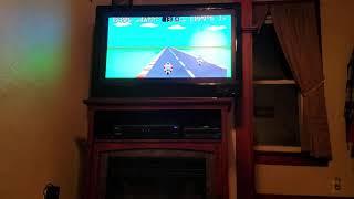 Sega Master System Hang On Through the Power Base Converter on the Genesis