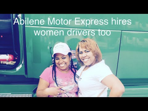 Abilene Motor Express Hires Women Drivers!! Come Drive The Green Ladies