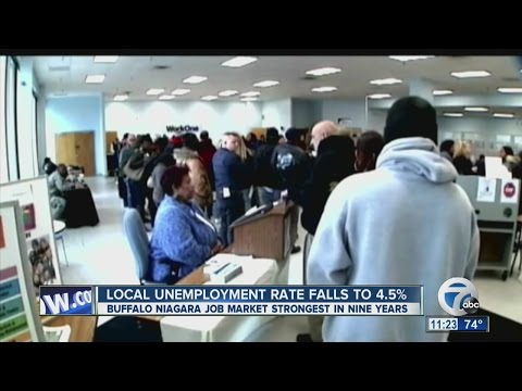 Lower Unemployment Means More Jobs For Western New Yorkers