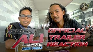 Ejen Ali The Movie - Official Trailer #1 Reaction