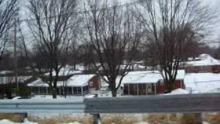 tormenta de nieve  en louisville KY