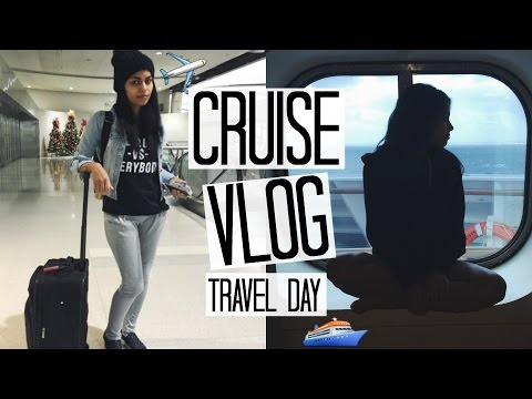 Carnival Vista Cruise Vlog Ep. 1 | Travel Diary